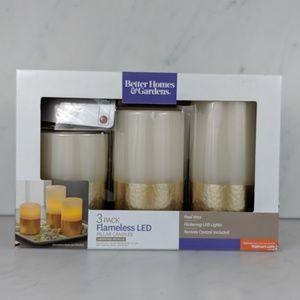 Better Homes & Gardens Flameless Candle Set